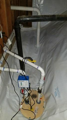 CleanSpace Encapsulation With Sump Pump in Lyle, WA