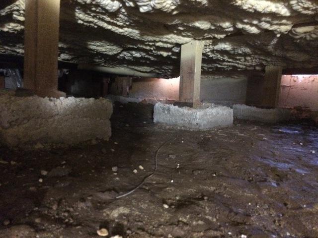 Floor Insulation in Molalla Oregon