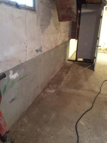 ThermalDry Wall System in Centerville, WA Basement