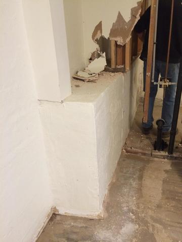 Thermaldry Wall in Eddyville, OR Basement