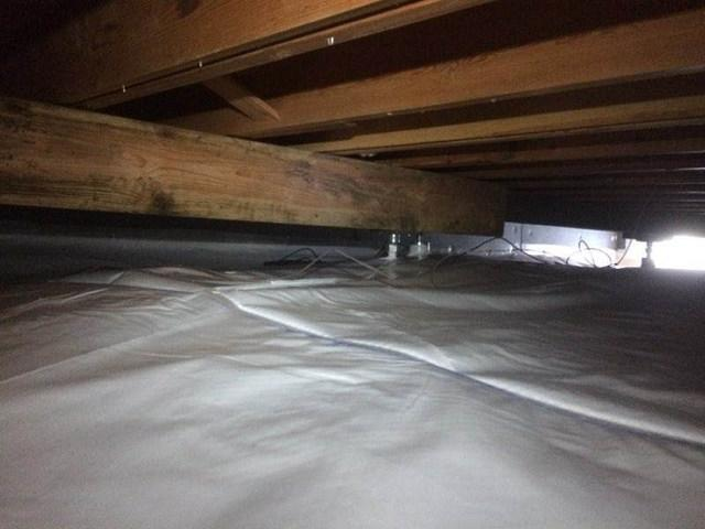 Wahkiacus, WA Crawlspace gets Encapsulation