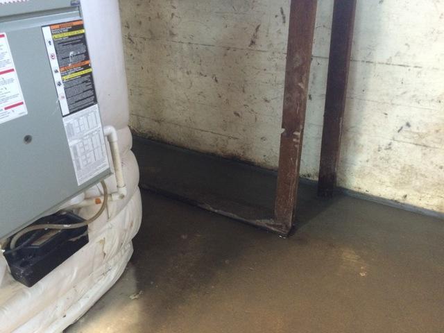 Leaking Basement Walls in Salem, OR