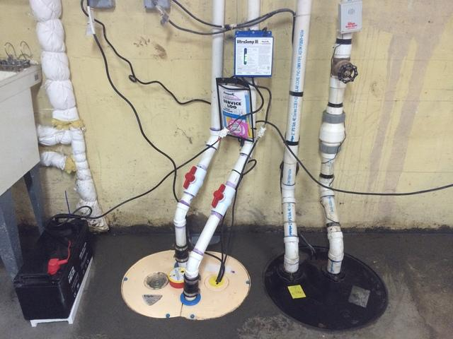 Sump Pump Upgrade in Salem,OR Basement