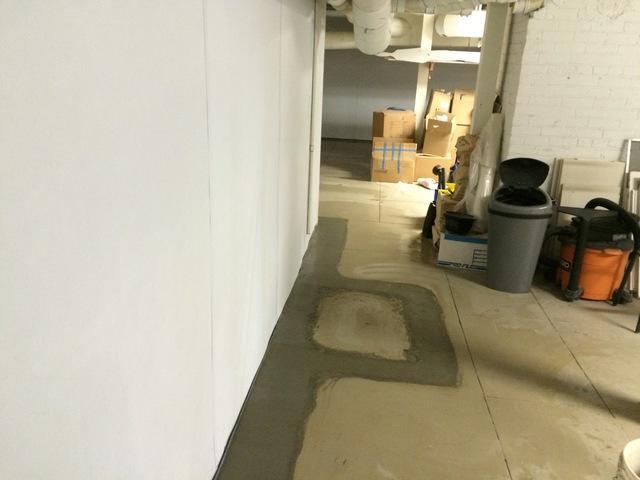 Waterproofing a Portland, Basement