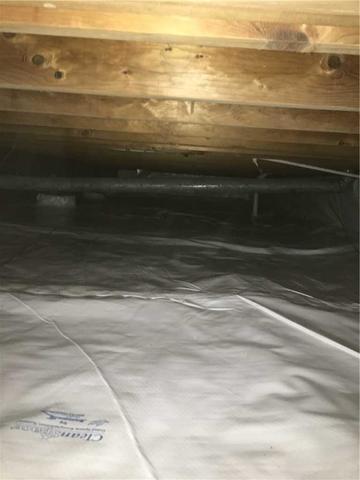 Repaired crawl space in Beaverton