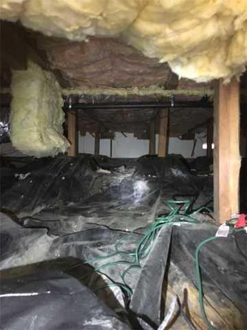 Flooding Crawlspace in West Linn, OR