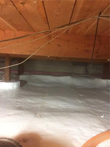 Crawl Space Repaired in Happy Valley, OR