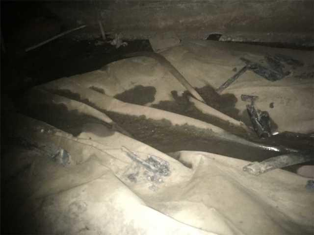 Water in Troutdale, OR Crawl Space