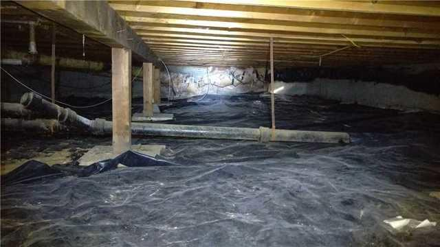 Crawl Space Completion; Milwaukie, OR