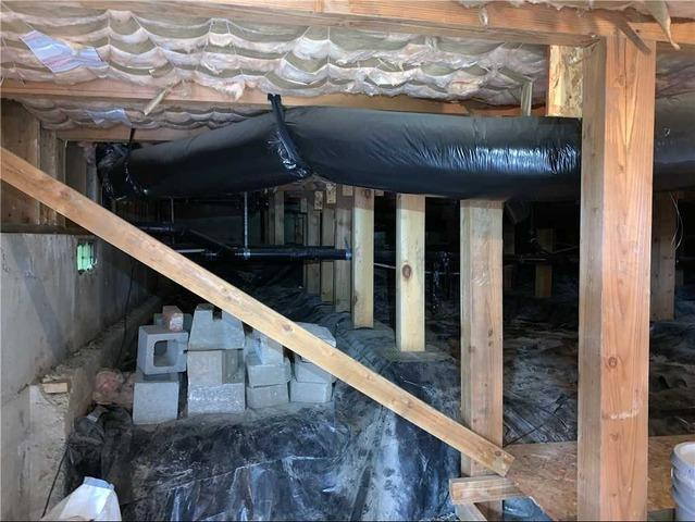 Wet Crawl Space in new home; Salem, OR