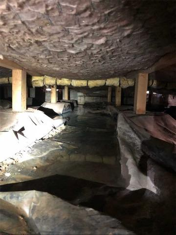 Puddled Crawl Space in Eugene, OR - Before Photo