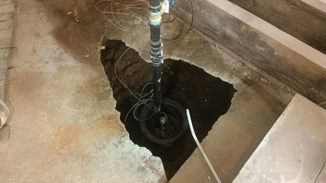 Sump Pump Install in Vancouver