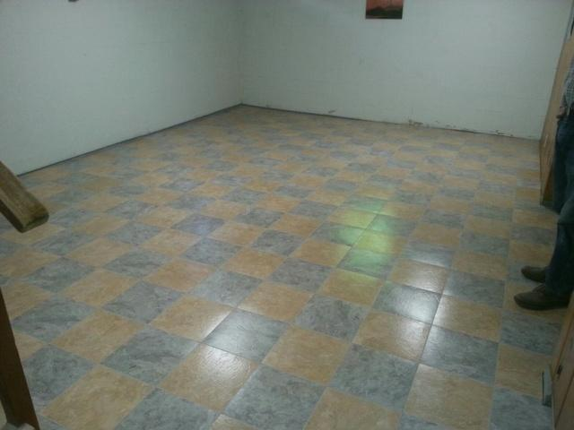 Basement flooring in Sherwood Oregon