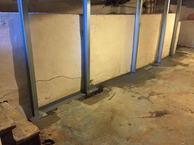 Wall reinforcement in Lincoln City Oregon