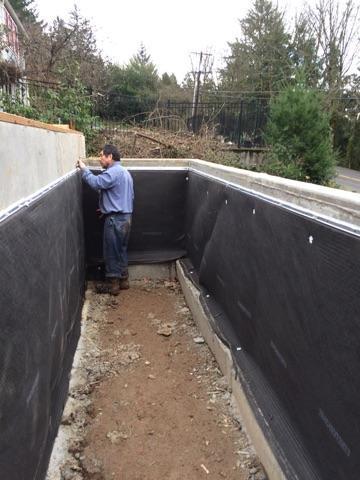 Foundation Waterproofing in Portland, OR