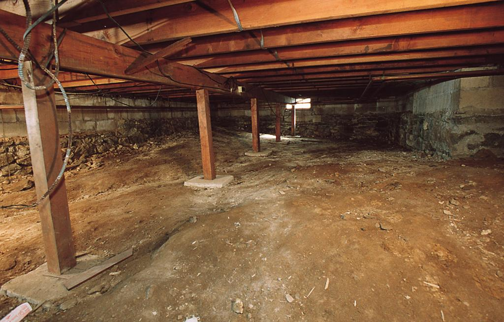 Crawlspace in Wattsburg, PA - Before Photo