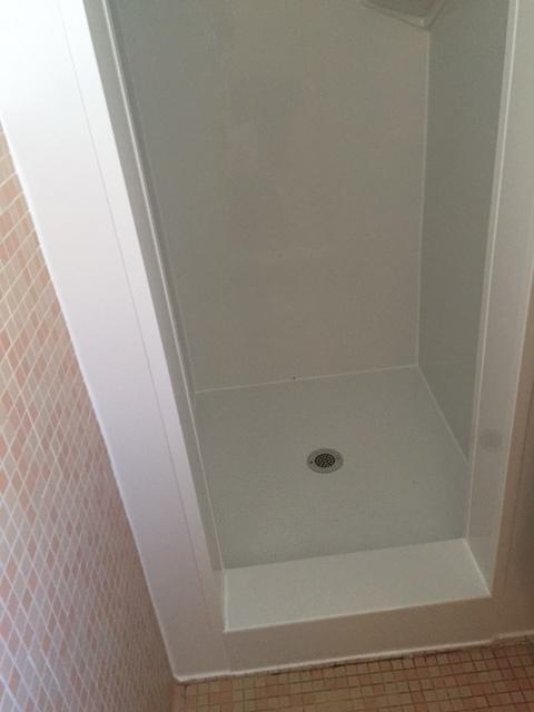 New Acrylic Shower Pan & Walls in Jamestown, NY - After Photo