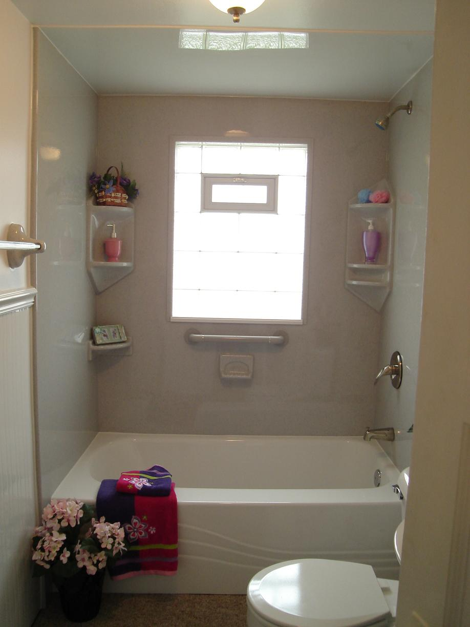 Acrylic tub liner and wall surround in Erie, PA - After Photo