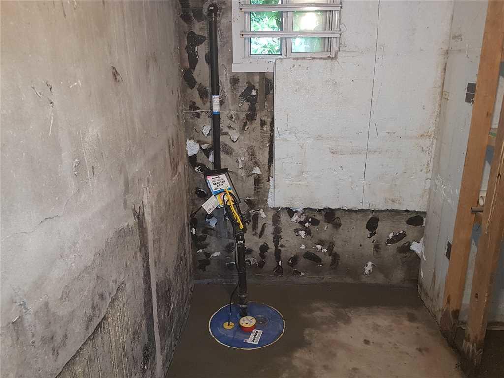 Problème de fuite d'eau réglé dans une chambre froide à Montréal - After Photo