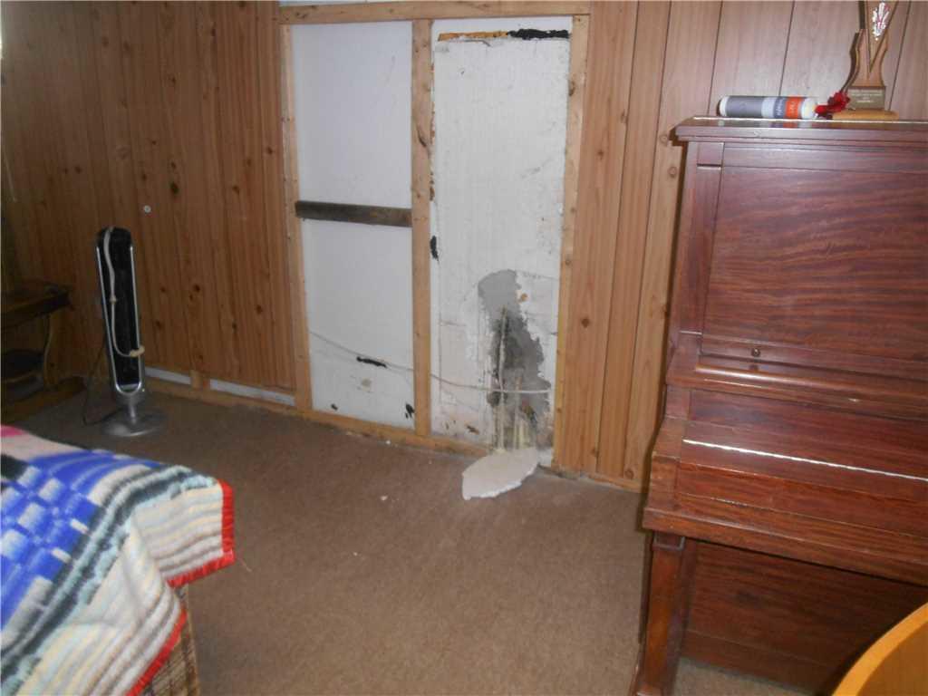 Waterproofing a basement in Ormstown - Before Photo