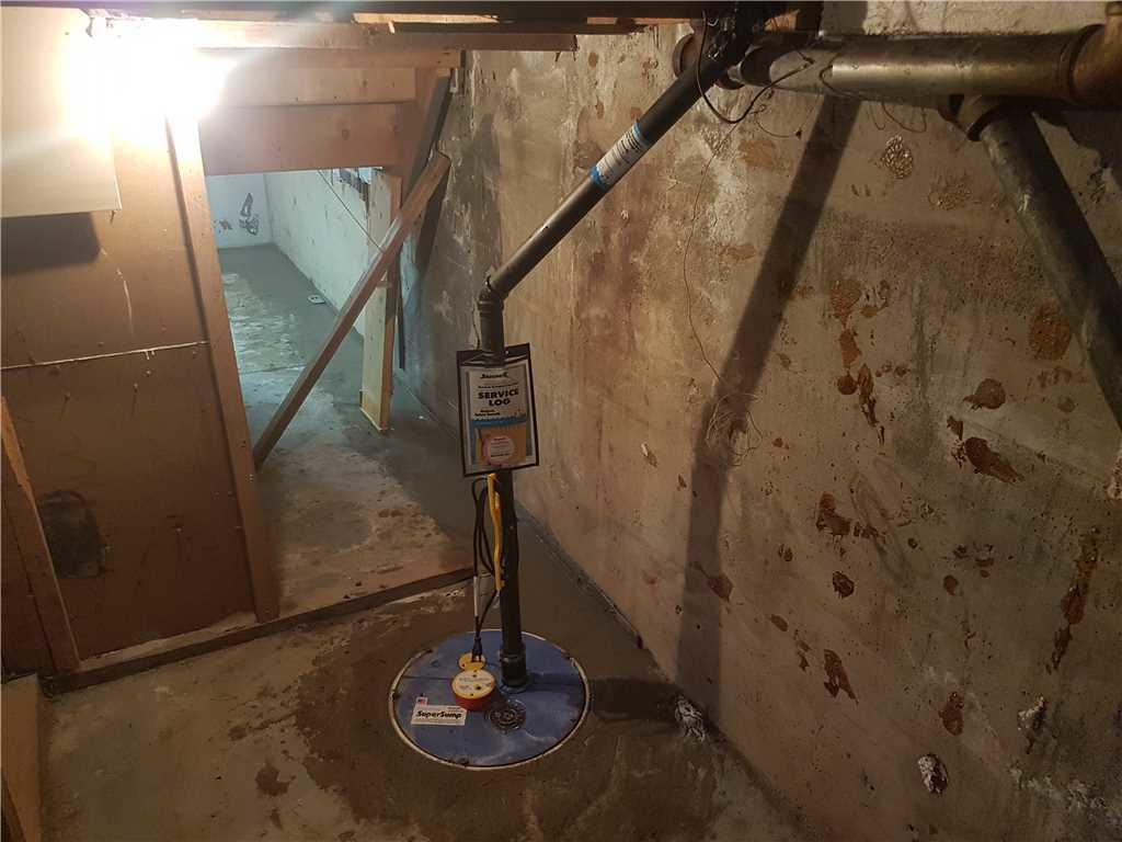 De l'eau dans le sous-sol, pas de problème à Ormstown - After Photo
