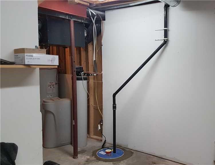 Une pompe de puisard à Luskville - After Photo