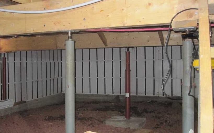 Imperméabilisation d'un vide sanitaire à Grenville-sur-la-Rouge, Qc - Before Photo