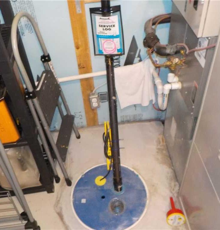 Nappe phréatique causant une infiltration d'eau à l'Assomption, Qc - After Photo