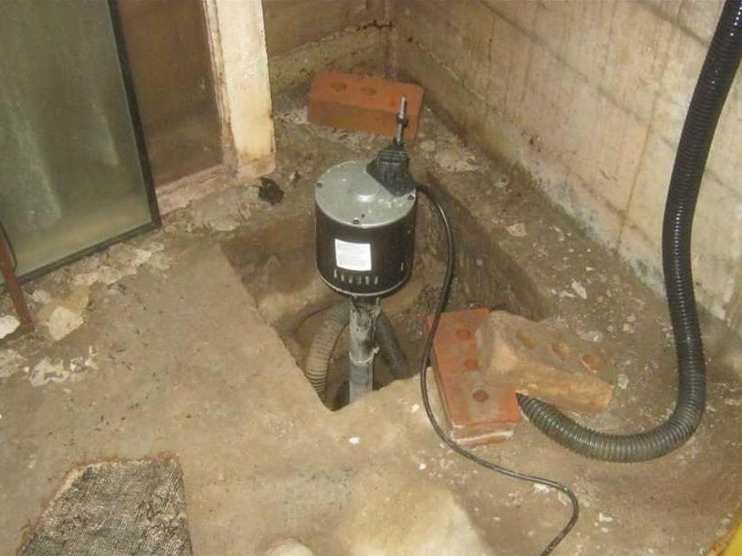 Problème de pompe actuelle à Roxboro, Qc - Before Photo