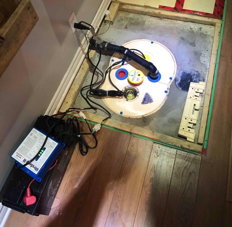 Installation d'une pompe TripleSafe à Blainville, Qc - After Photo