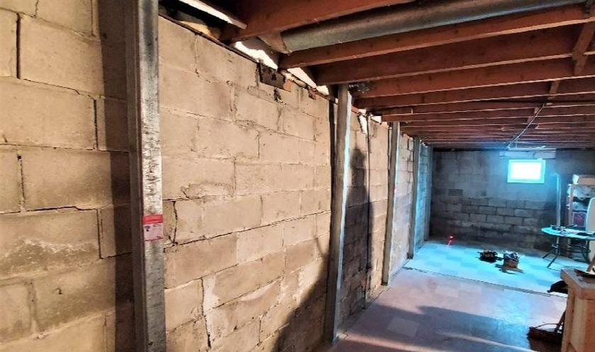 Stabilizing a Foundation in Gatineau, Qc - After Photo