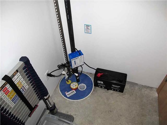 Installation d'un système de pompe de puisard dans le quartier Saint-Léonard  à Montréal !