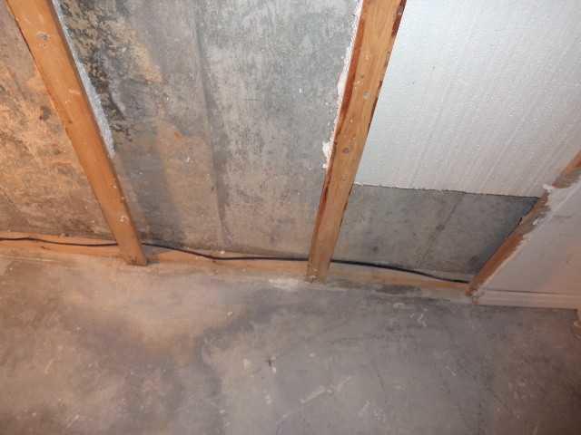 Réparation d'une fissure dans les fondations d'une maison de Saint-Eustache !