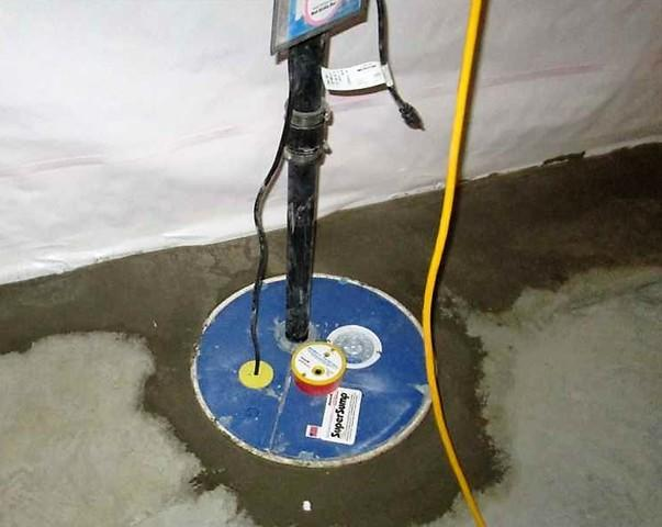 Sump Pump Installation in Châteauguay, Quebec