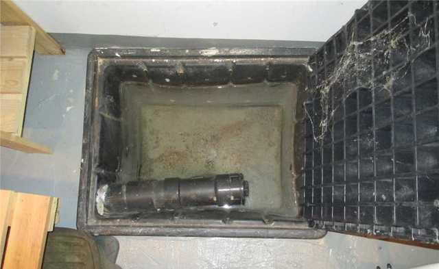 Sump Pump Installed in Montreal