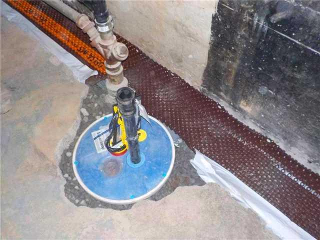Sump Pump installation in Montreal