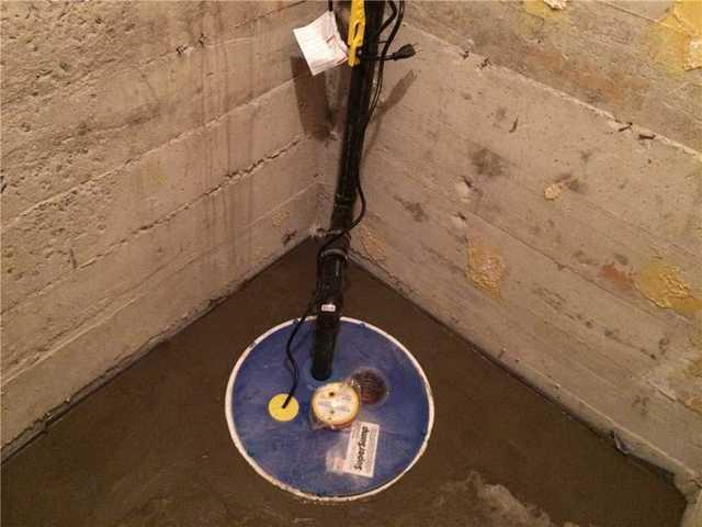 Sump Pump Installation in Montreal
