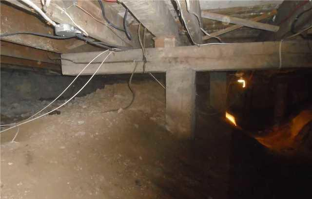 Crawl Space repair in SouthWest Montreal