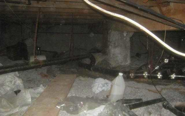 Crawl Space Repair in SouthWest, Montreal