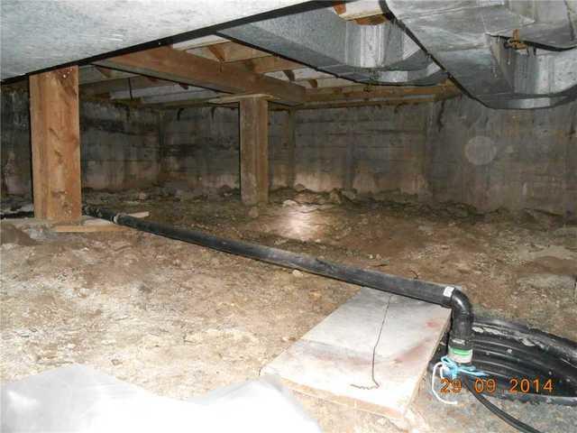 Encapsulation of Granby, Qc Dirt Crawl Space