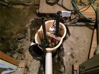 Change of Sump Pump in Drummondville,QC