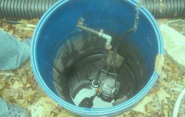 Replacing an Old Sump Pump  in Sherbrooke, QC