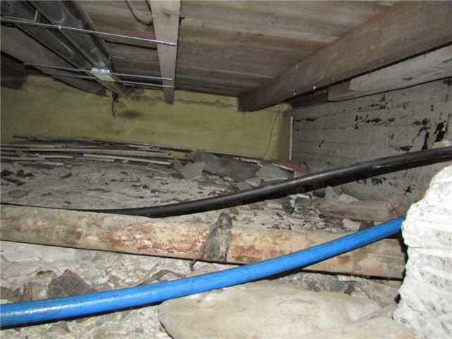 Encspsulation d'un vide sanitaire à Sainte-Martine