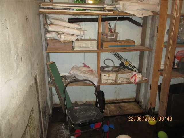 Groundwater seepage problem in a cold room, problem solved in Montreal.