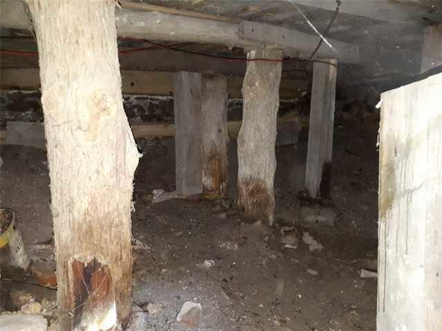 A crawl space encapsulated in Trois-Rivières