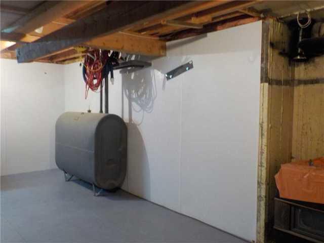 Wall Insulation System in Beloeil, Qc.