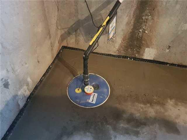 Un changement de système de pompe de puisard à Sainte-Martine