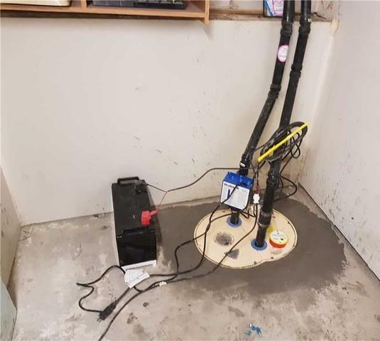 Un système TripleSafe à 3 pompes de puisard installé à Gatineau - After Photo