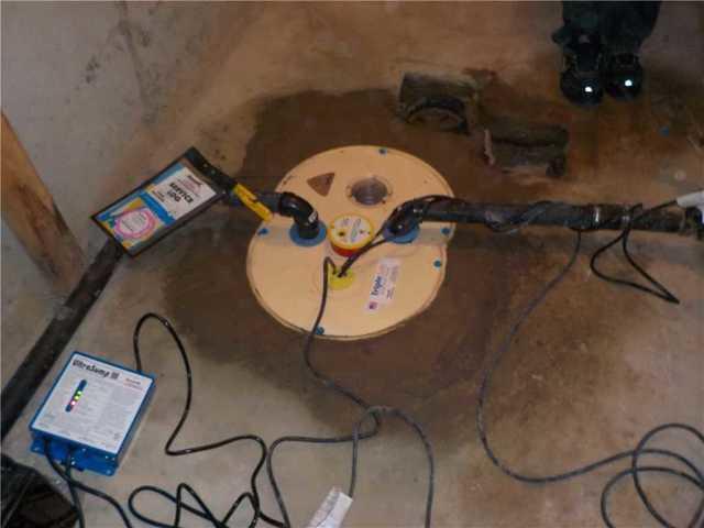 Waterproofing a basement in Sainte-Dorothee