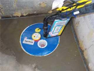 Updated sump pump in Saint-Polycarpe